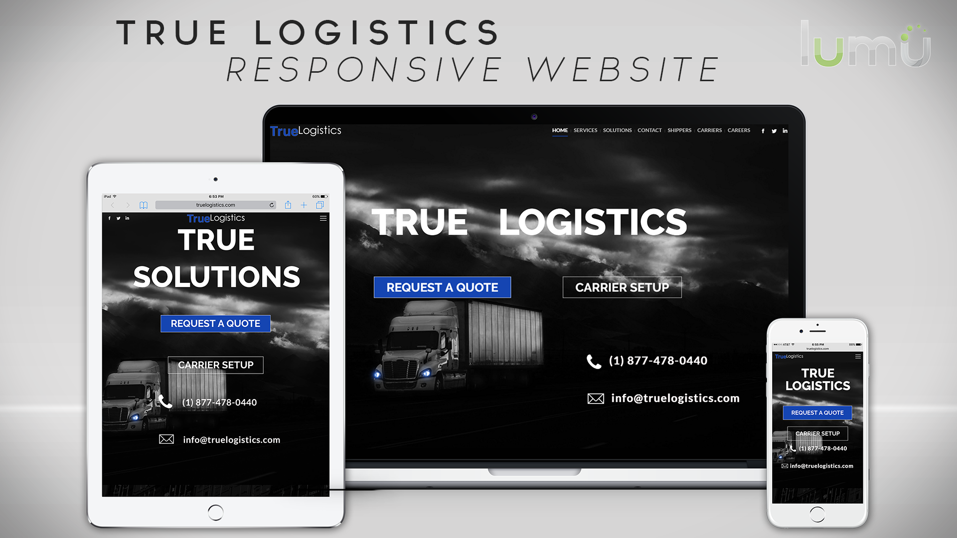 True Logistics Website